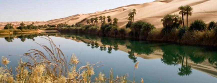 Libyan Tourist Landscapes Unknown by Many