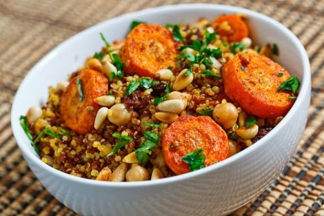 Recipe: Moroccan Roasted Carrot & Quinoa Salad