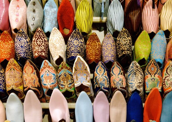 Traditional Shoes in the Arab World