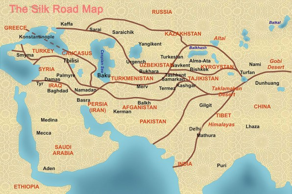 Then and Now: The Silk Road Destinations in the Middle East
