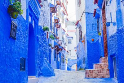 Insta Famous Blue Town of Chefchaouen, Morocco
