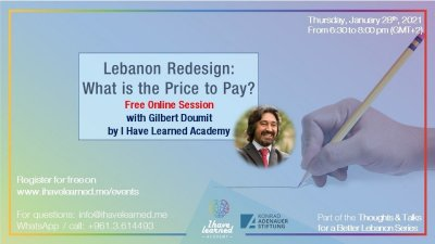 Lebanon Redesign: What is the price to pay?
