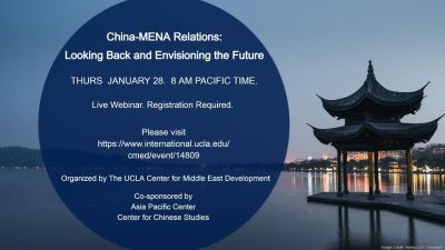 China-MENA Relations: Looking Back and Envisioning the Future