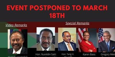 Sudan: Challenges of Democratic Transition (Rescheduled event)