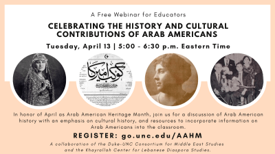 Celebrating The History and Cultural Contributions of Arab Americans