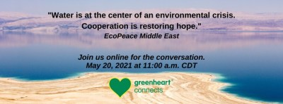 Working Together to Protect Scarce Water Resources - Live Q&A with EcoPeace Middle East