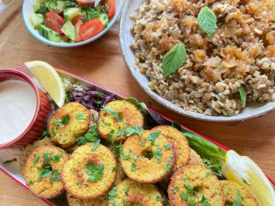 Plant-Based Middle Eastern Dishes