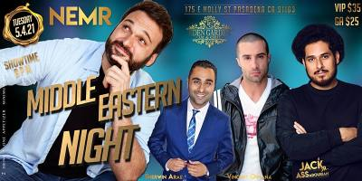 Middle Eastern Comedy Night