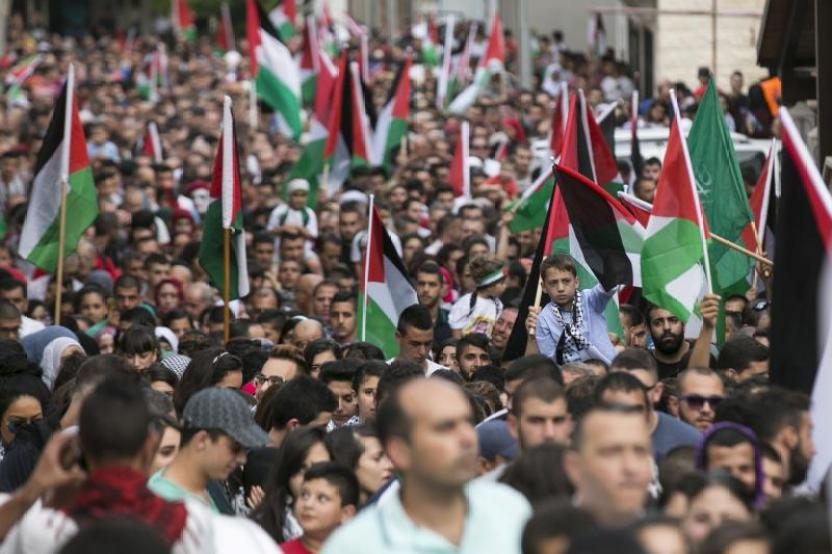 Palestinian Israelis Proclaim their Identity—as Pro-Palestinian Left in U.S. Fights Republican Attempts to Exploit It
