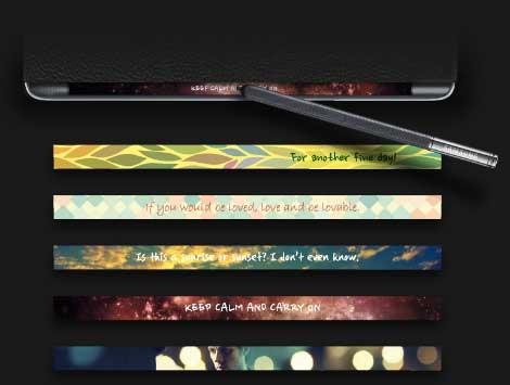 أبرز 5 مزايا في هاتف Galaxy Note Edge ذي الشاشة المنحنية !