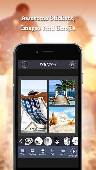 VidArt المجاني لدمج الفيديو و الصور وتحميل فيديوهات من اليوتيوب وإضافة مقاطع صوتي من SoundCloud