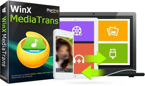 عرض خاص: شرح برنامج WinX MediaTrans لنقل مقاطع الفيديو المحمية للأيفون