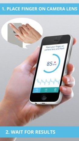 تطبيق Heart Rate PRO للحصول على قياس ضغطات القلب