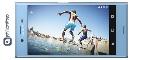 هاتف Sony Xperia XZs - الشاشة