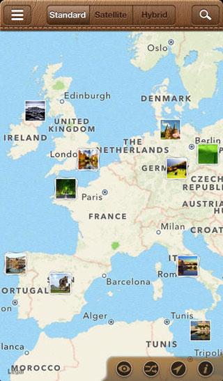 تطبيق WhatsGoLa Camera لمشاهدة صور أشهر الأماكن