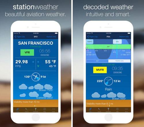 تطبيق StationWeather لمعرفة حالة الطقس بدقة
