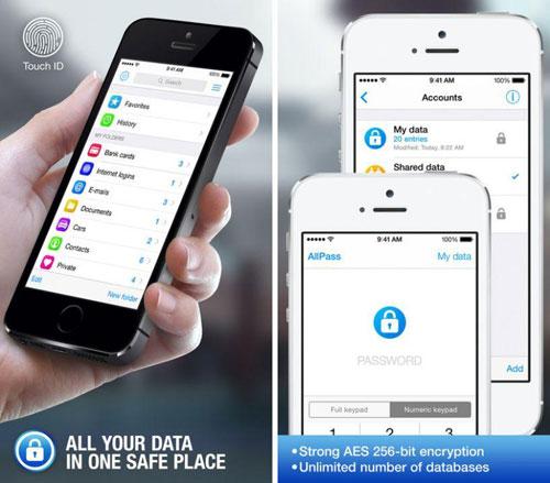 تطبيق AllPass Pro لحفظ ملفاتك المهمة في مكان آمن
