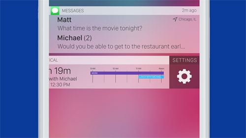 إمكانية تخصيص الإشعارات والتحكم بها في iOS 11