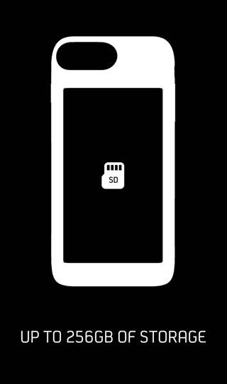 دعم بطاقة MicroSD في الايفون