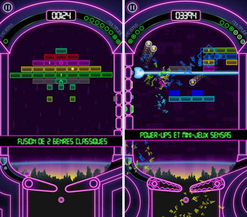 لعبة Pinball Breaker Forever الكلاسيكية متوفرة