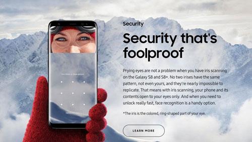 تقنية التعرف عن الوجه في جالكسي S8 ضعيفة ويمكن تجاوزها !