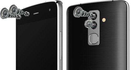 شركة alcatel تكشف عن هاتف Flash مع كاميرا مزدوجة من الخلف والأمام