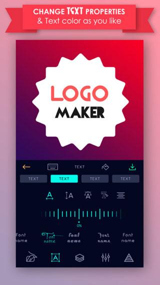 تطبيق Logo Maker - لإنشاء الشعارات والبطاقات ومختلف التصاميم