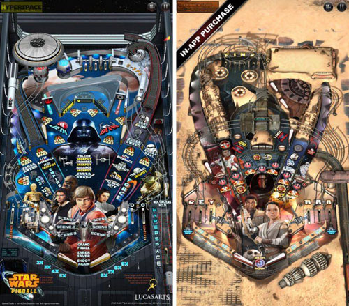 لعبة Star Wars™ Pinball 5 الشهيرة