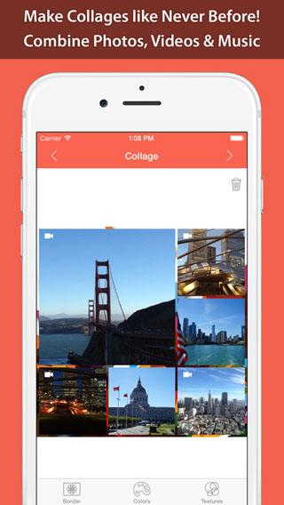 تطبيق Photo & Video Collage لدمج الصور والفيديو