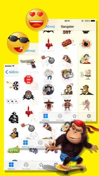 تطبيق AA Emoji Keyboard للحصول على كثير من الإيموجي