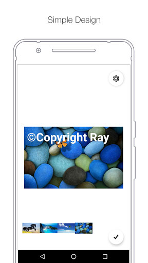 تطبيق Batch Watermark لإضافة التوقيع المائي