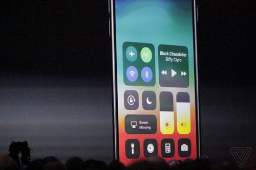 مركز التحكم iOS 11