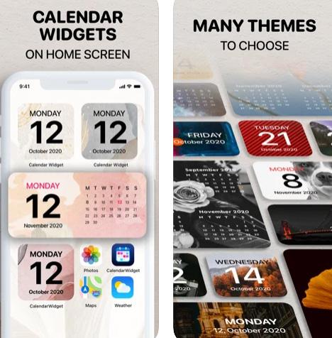 تطبيق Calendar Widget - ويدجت التاريخ