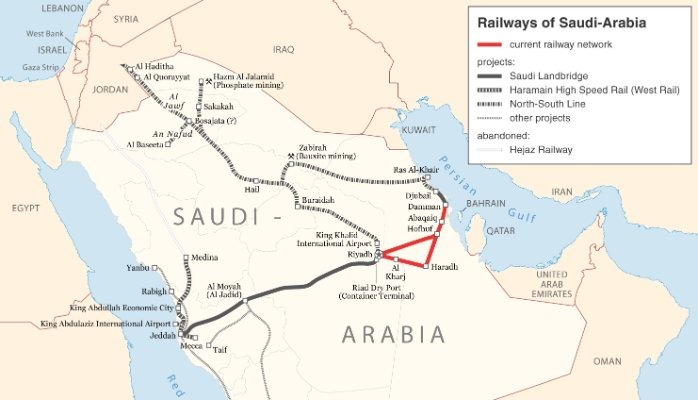 Saudi transport projects total $81.6bn