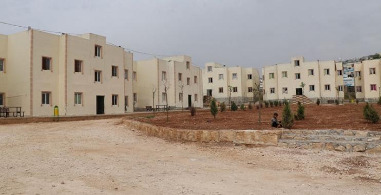 تركيا تبدأ بتوزيع منازل على عائلات سورية في هذه المنطقة 1