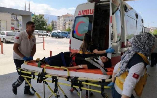 سقوط فتاة سورية من الطابق الثالث في بورصة 1