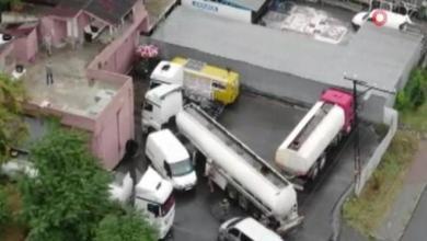 حملة أمنية في إسطنبول يسفر عنه ضبط 17 طنًا و400 ألف لتر من الوقود غير القانوني 4