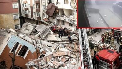 Photo of انهيار مبنى في اسطنبول