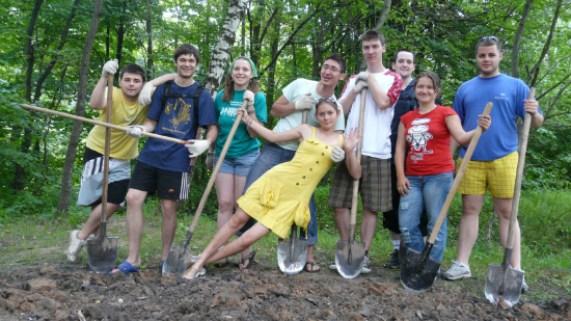 السفر إلي بوخارست رومانيا عن طريق العمل التطوعي