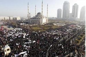مظاهرات بالشيشان