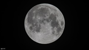 GLASTONBURY, UNITED KINGDOM - SEPTEMBER 28: (EDITORS NOTE: Image has been converted to black and white) The moon is seen prior to the Penumbral Eclipse starting on September 28, 2015 in Somerset, England. TonightÕs supermoon - so called because it is the closest full moon to the Earth this year - is particularly rare as it coincides with a lunar eclipse, a combination that has not happened since 1982 and wonÕt happen again until 2033. (Photo by Matt Cardy/Getty Images)