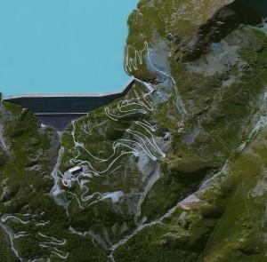 سد Grande Dixence Dam في سويسرا