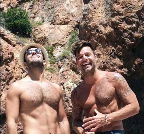ريكي مارتن و صديقه السوري جوان