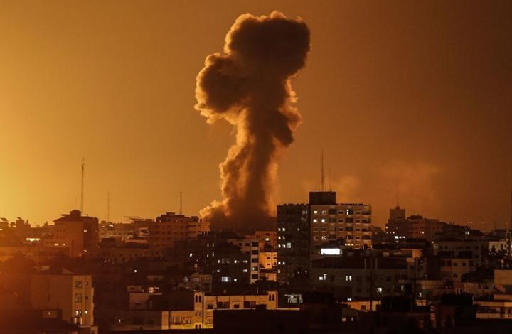 غارات متتالية للاحتلال على موقع جنوب غزة