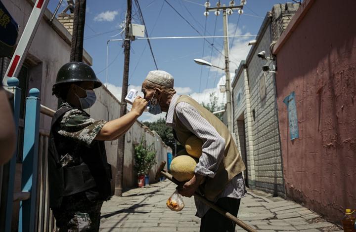 الصين تتبع إجراءات حبس جماعية للإيغور بسبب كورونا