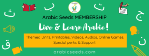 Arabic Seeds - Arabic printables videos audios membership for kids and non-native speakers-4