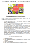 Blogpost to print or read – Spring Unit lessons plans
