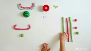 Arabic Alphabet Play Dough Activity - COPYRIGHTS @tala_and_mommy