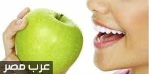 فوائد التفاح الاخضر للجسم لخساره الوزن وتبيض الاسنان تعرفي عليها الان
