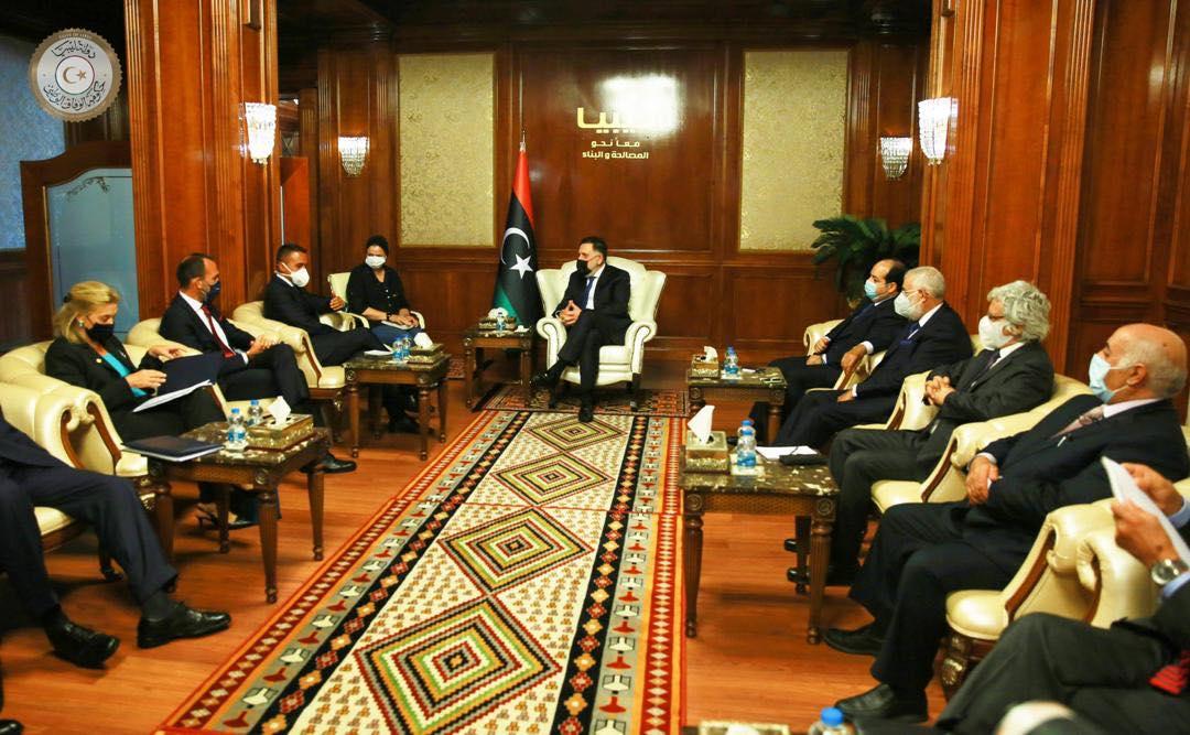 EU top diplomat, Italian FM in Libya to push for peace talks